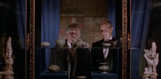 Watson (Edward Hardwicke) and Baron Gruner (Anthony Valentine).