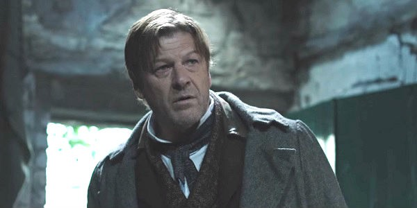 Sean Bean as detective John Marlett in Rainmark Films' The Frankenstein Chronicles